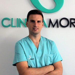 Jose Domingo Calle, Podólogo en Clínica Moreau